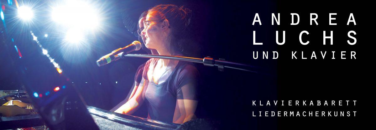 Andrea Luchs und Klavier